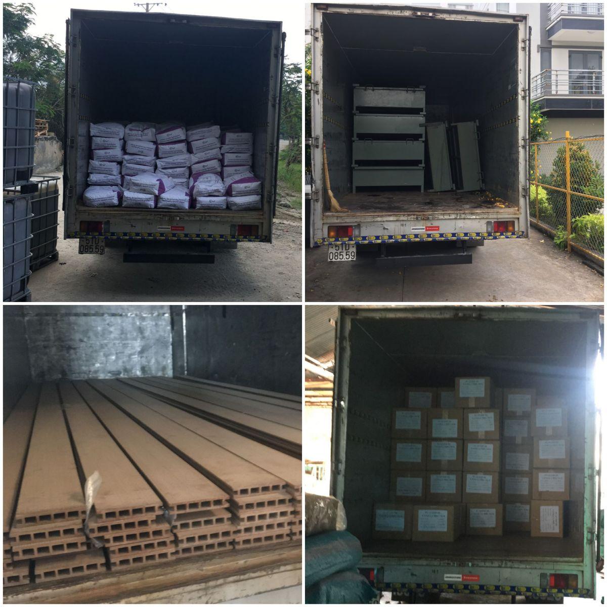 cho thuê xe tải thùng kín 5 tấn, 2 tấn chở hàng  bình dương, long an, đồng nai, hcm
