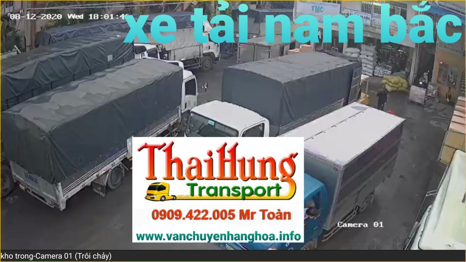 xe tải chở hàng dọn nhà nam bắc
