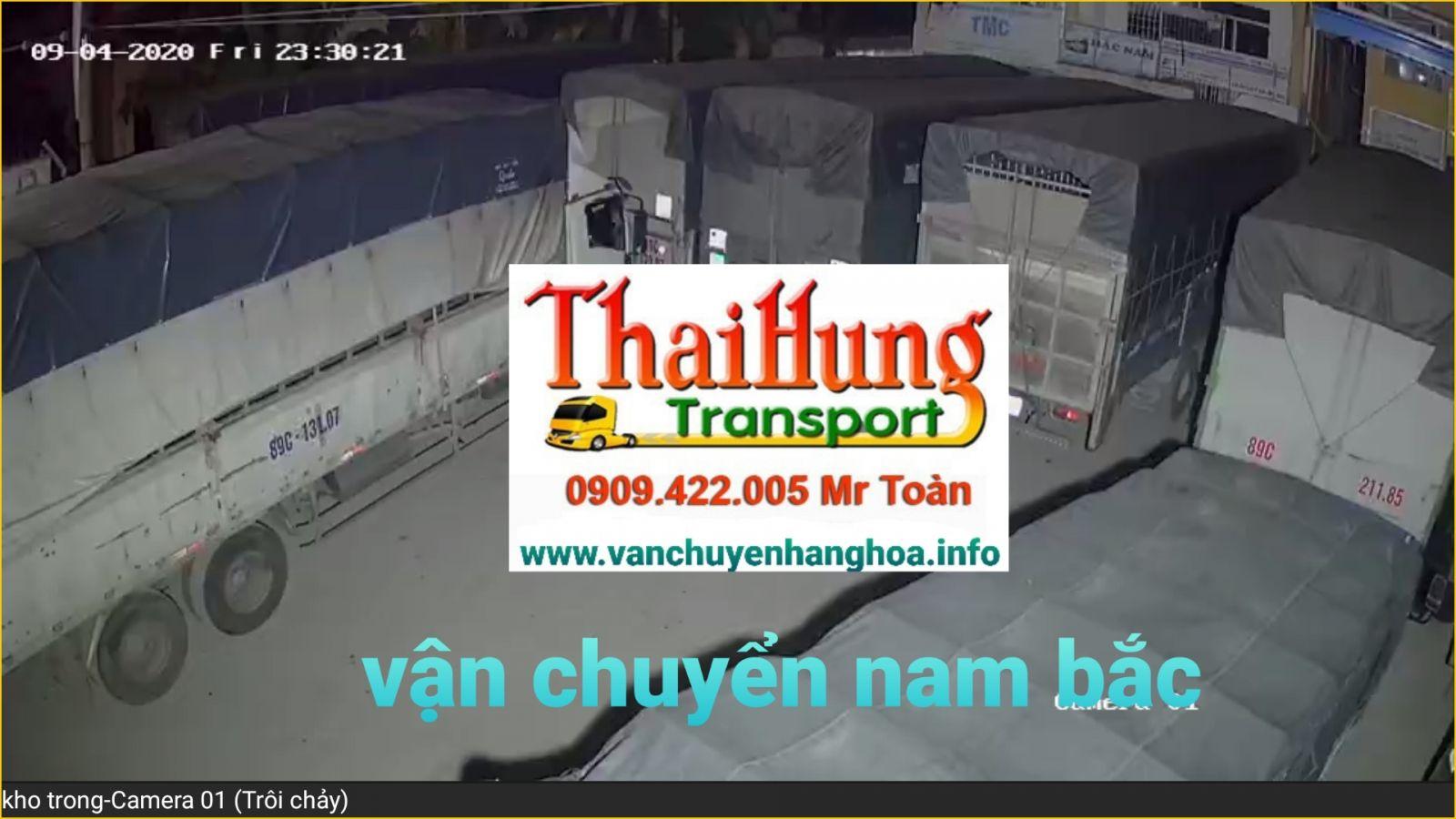Đội xe tải chuyển nhà Bắc Nam Thái Hùng