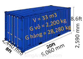 CONTAINER KHÔ 20FEET