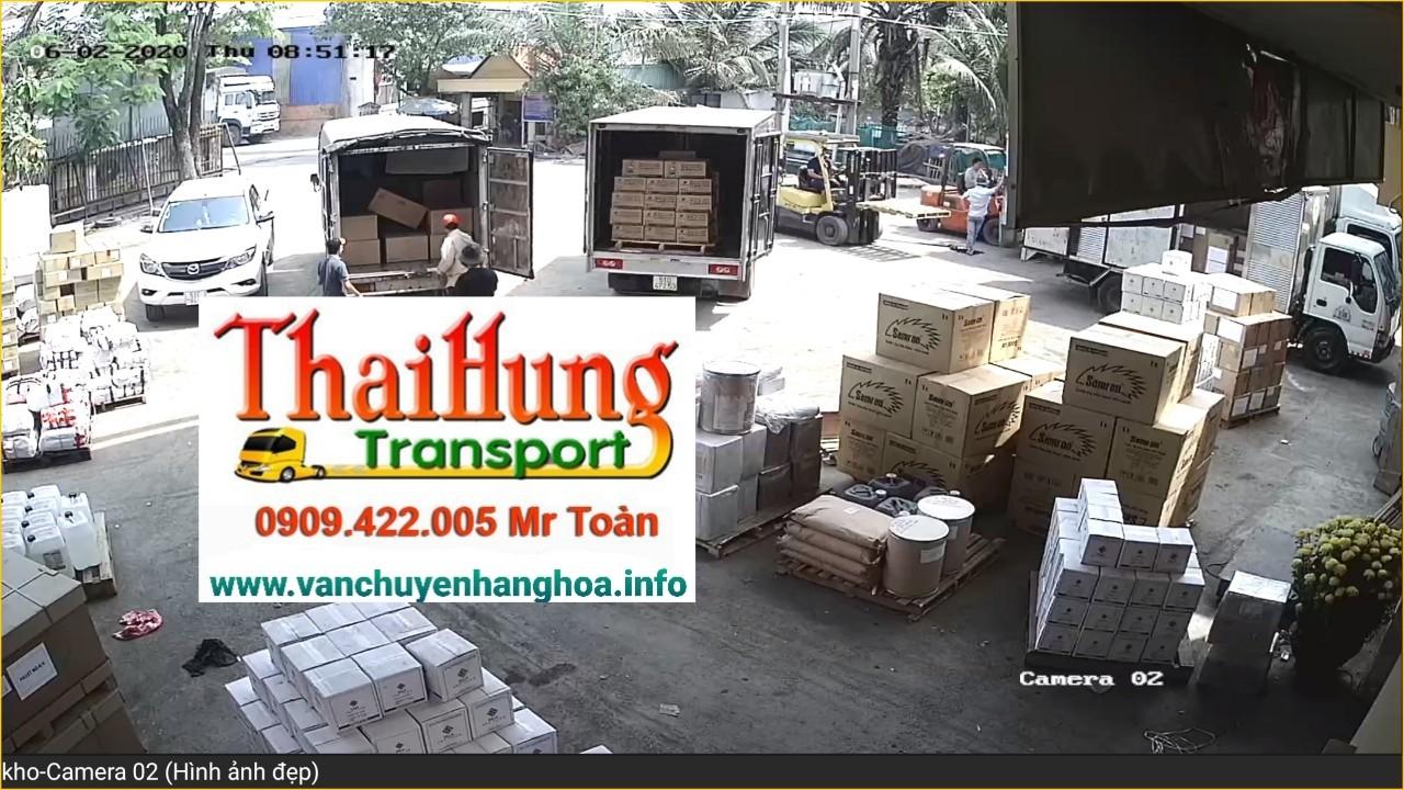 vận chuyển hàng hóa tại kho hàng Thái Hùng