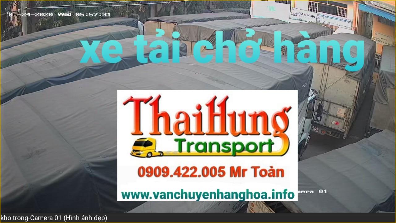 Đội xe tải đường dài Bắc Nam Thái Hùng